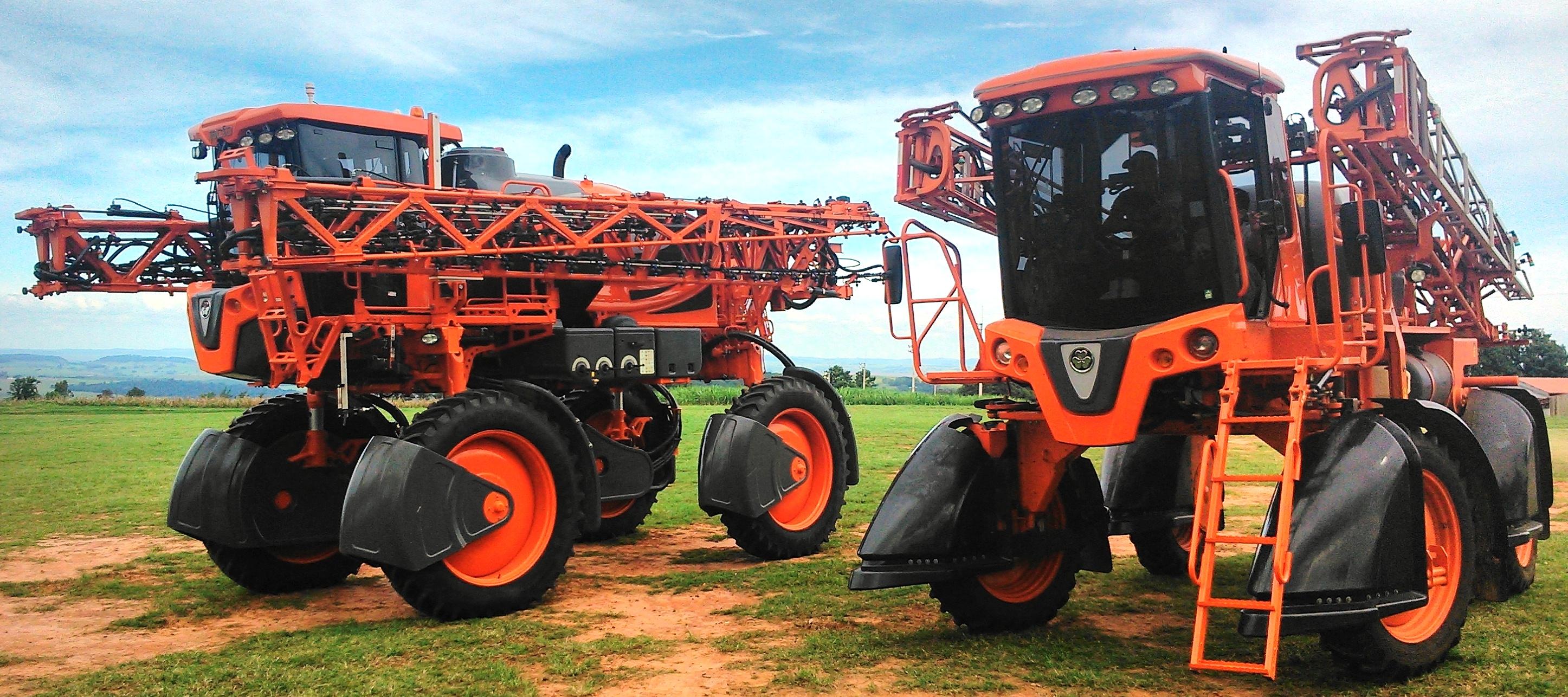 Como foi a evolução da agricultura de precisão em pulverização?