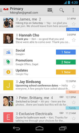 novo-gmail-android