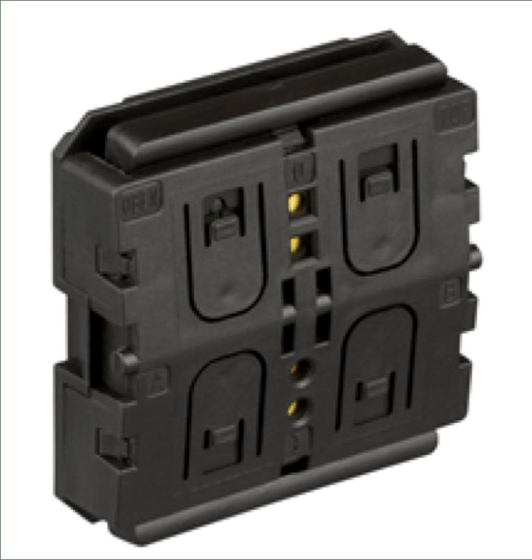 Bezbateriový bezdrátový vypínač ZF KNX RF