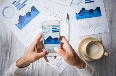sistema de gestión de empresas en móvil
