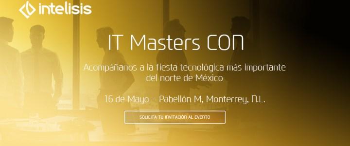 Te invitamos a participar en la IT Masters CON 2018