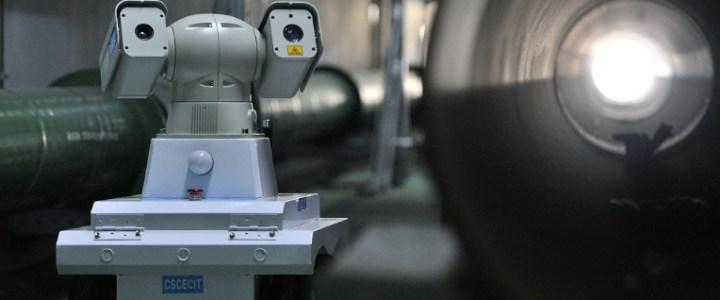 Robots patrullan red de tuberías subterráneas en China