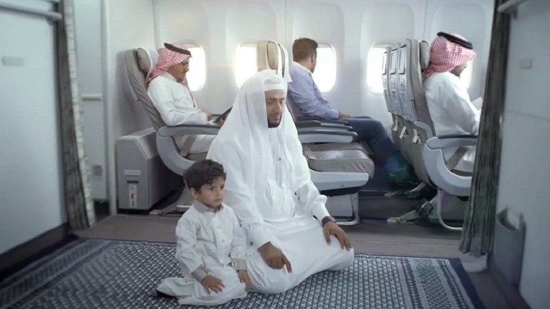 How Could a Person Pray While Flying?