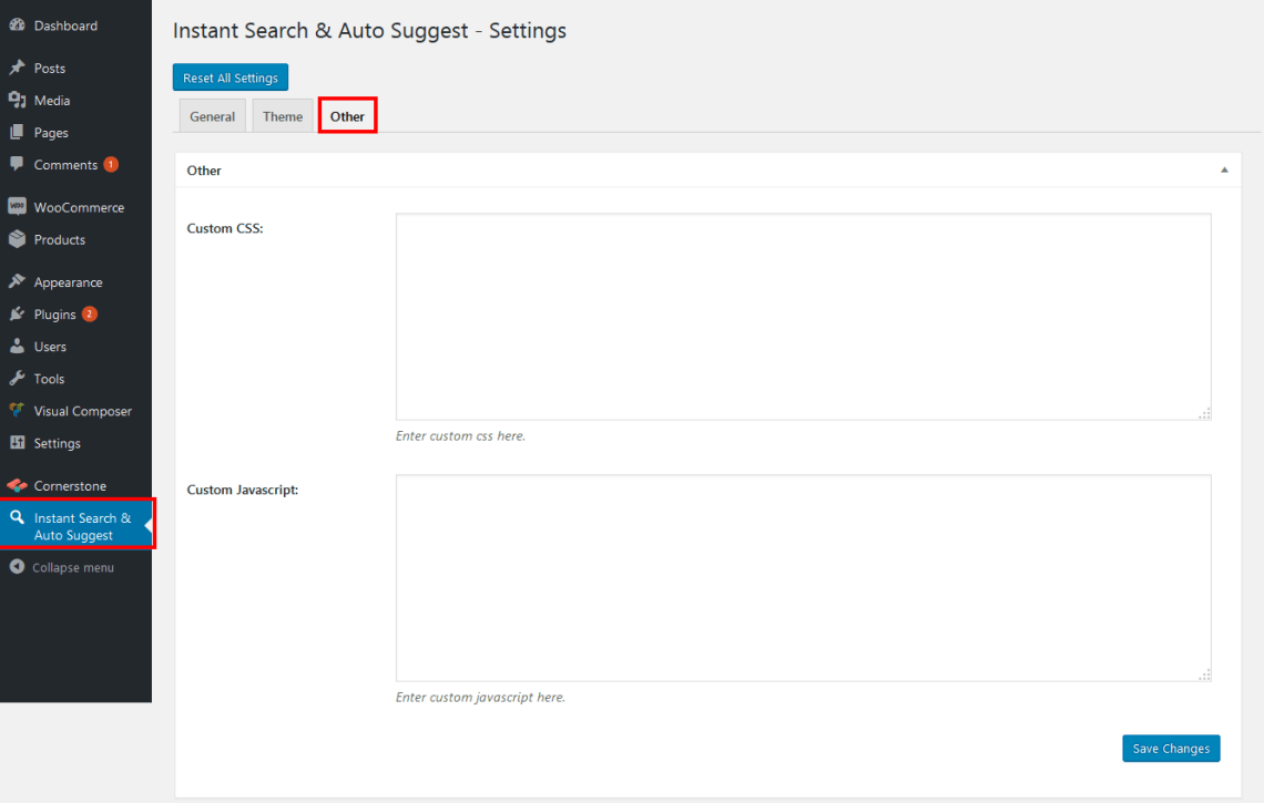 WP Instant Search & Auto Suggest 7