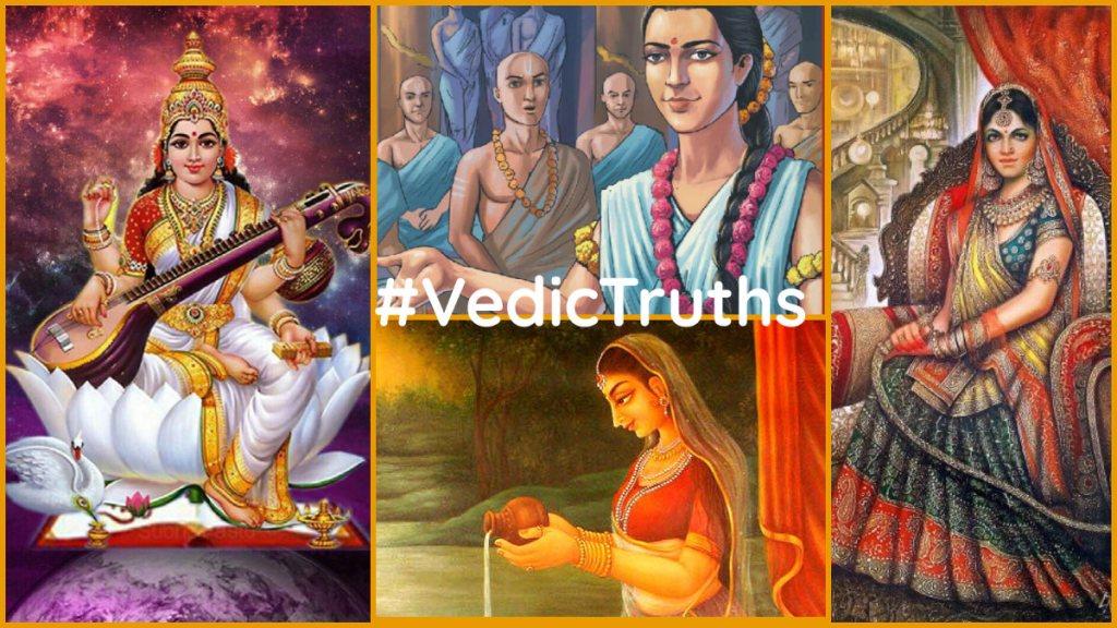 Women & Education: #VedicTruths > #FakeLiberalisms