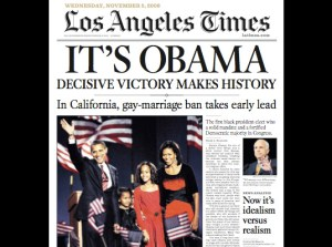 Obama Victory and California's Gay Marriage Ban