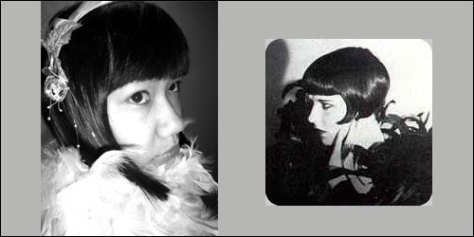 1920s - Me and Louise Brooks