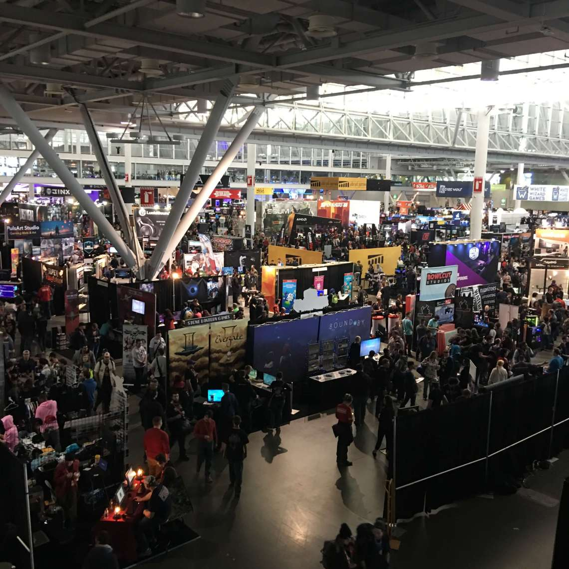 PAX East 2018 - Overhead View