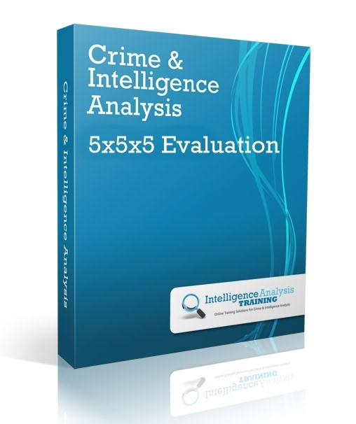 CI-13 5x5x5 Information Evaluation - Intelligence Analysis Training Ltd.