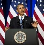 Obama at DoJ