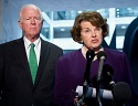 Sen. Feinstein (right) and Sen. Chambliss