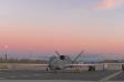 RQ-4B AF-20 at sunrise