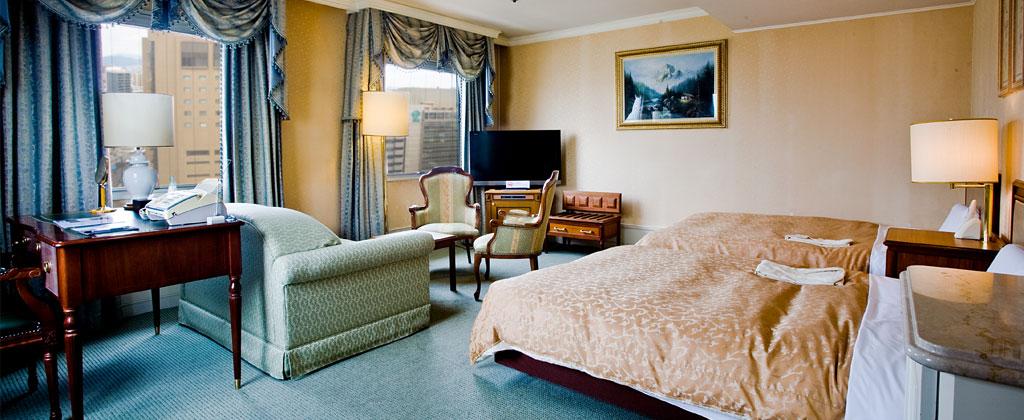 広島グランドインテリジェントホテル 客室