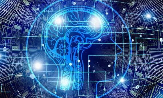 Abstrakte Darstellung künstlicher Intelligenz