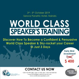 World Class Speakers' Training