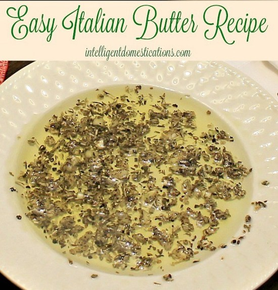 Easy recipe for Italian Butter. Carrabbas Copycat Italian Butter Recipe. Italian Butter recipe. Photo of Italian Butter in Olive Oil on dish