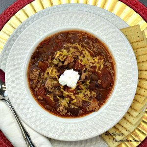 Crockpot Black Bean Chili Recipe