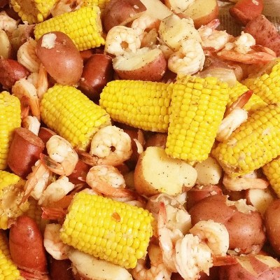 Family Holiday Traditions & Low Country Boil