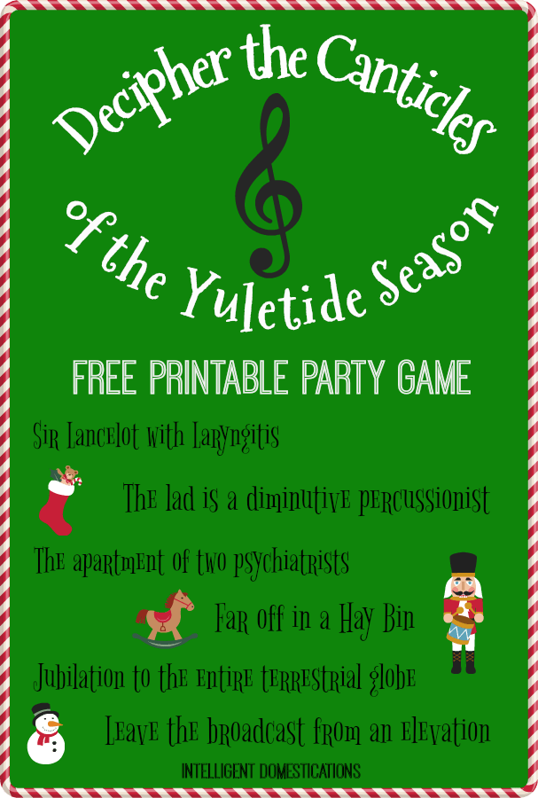 graphic regarding Printable Christmas Party Games known as Xmas Occasion Video games