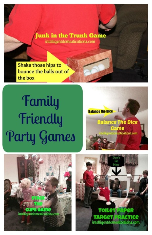 Family Friendly Party Games