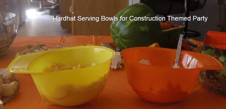Hard Hat Serving Bowls