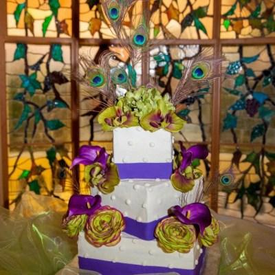 Peacock Theme Wedding Decor