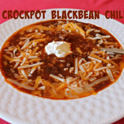 Crockpot Black Bean Chili
