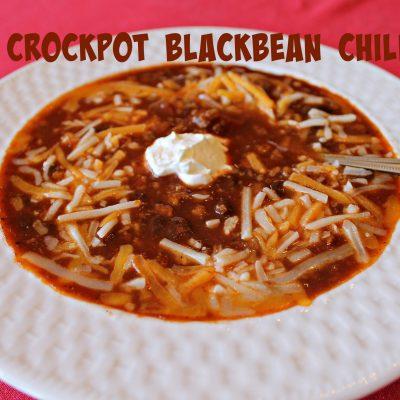 Crockpot Black Bean Chili