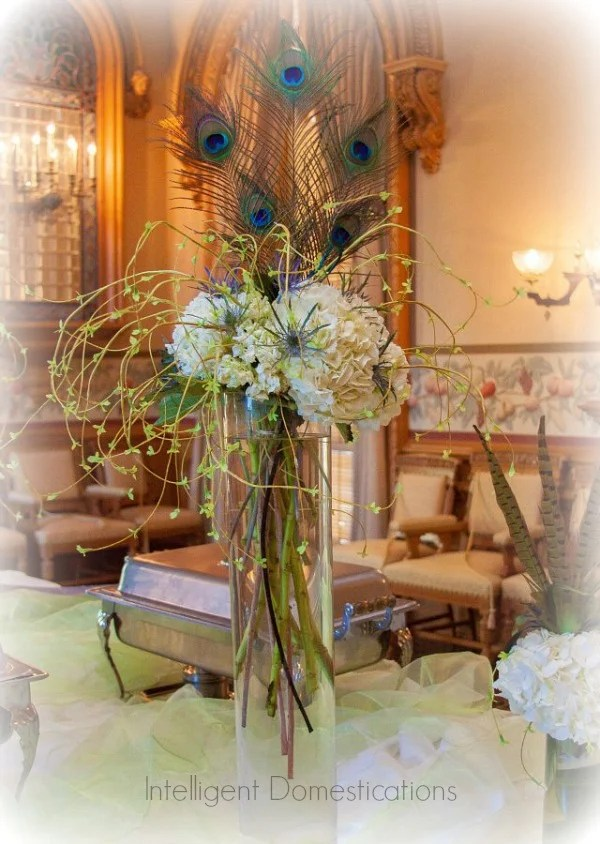 Peacock Theme Wedding Ideas Intelligent Domestications