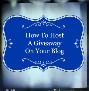 How To Host A Giveaway Intelligentdomestications.com