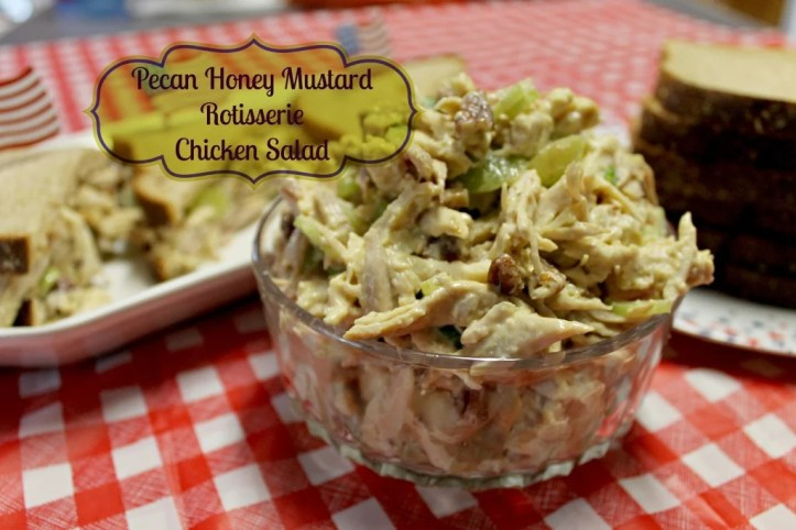 Pecan Honey Mustard Rotisserie Chicken Salad.intelligentdomestications.com