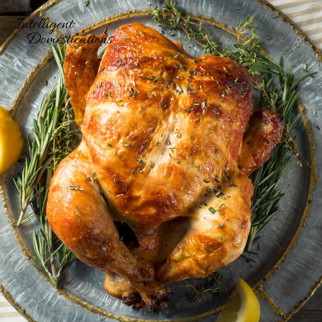 Rotisserie Chicken makes a delicious homemade chicken salad
