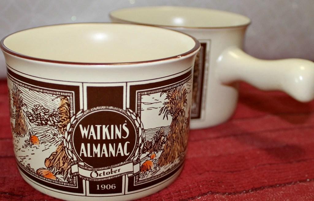 Watkins Vintage Soup Bowl with Handle