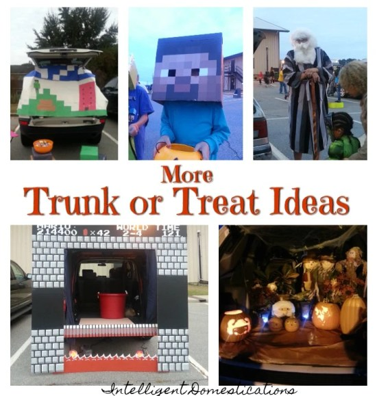 More Trunk or Treat Decor Ideas. Trunk or Treat Ideas. How to decorate your car for Trunk or Treat