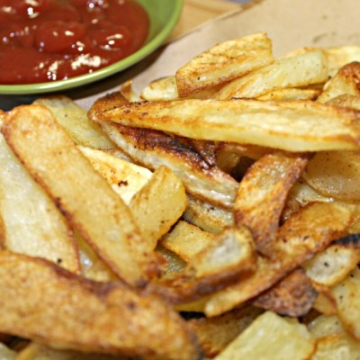Oven Baked Homestyle Fries