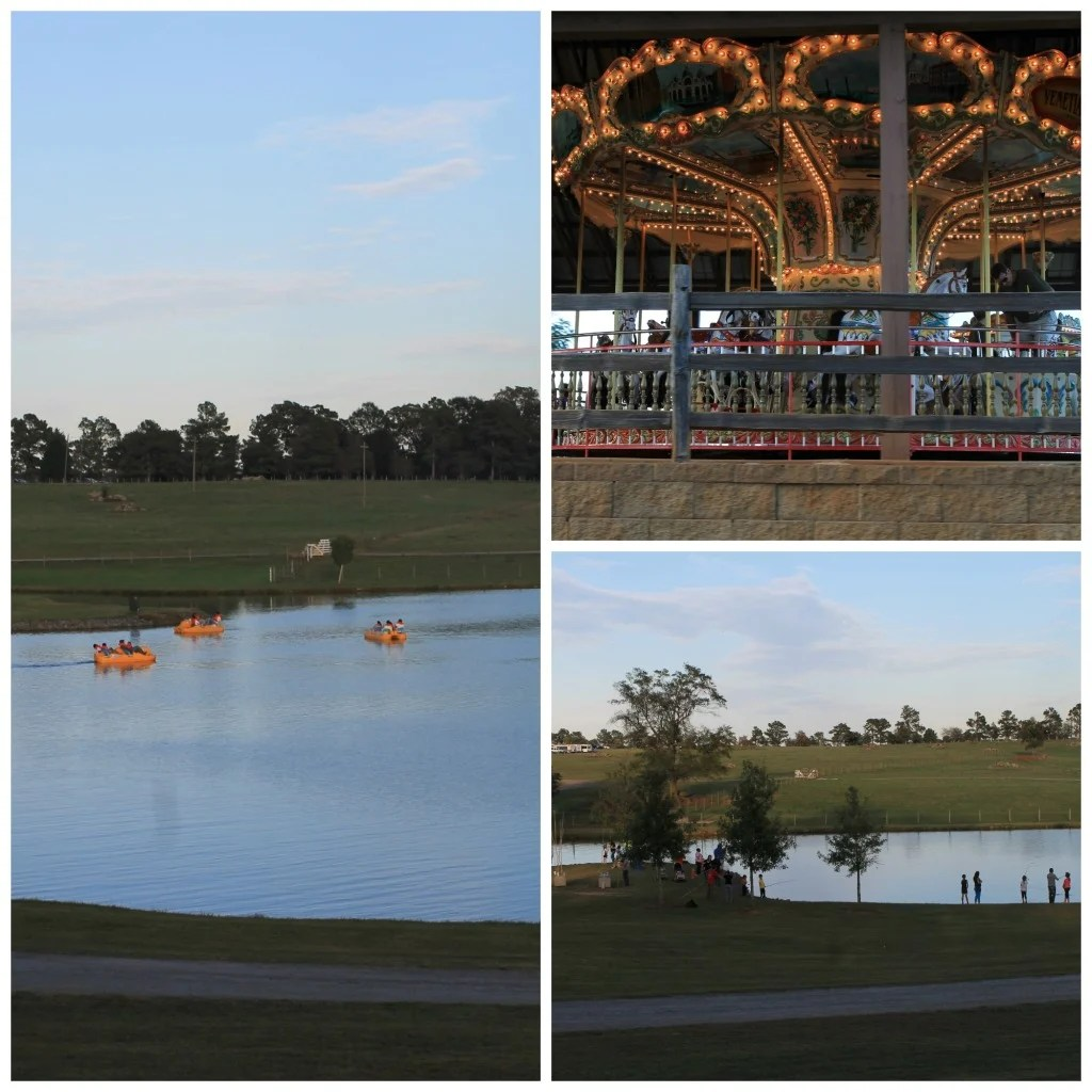 Paddle boats, Cane Pole Fishing and the Carousel at The Rock Ranch, the Rock Ga. 2014. Read more at www.intelligentdomestications.com
