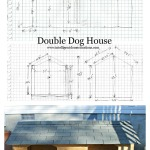 Double Dog House Rough Plans and Finished Photo.www.intelligentdomestications.com