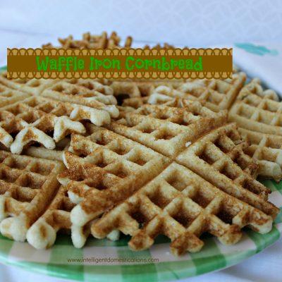 Waffle Iron Corn Bread