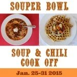 Souper Bowl. Soup & Chili Cook Off Linky Part. Jan. 25-31.intelligentdomestications.com