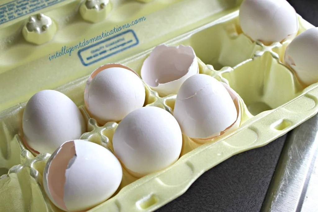Save your egg shells to make Egg Shell water for feeding your houseplants.intelligentdomestications.com