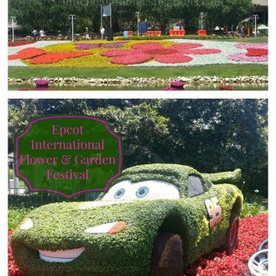 5 Tips For Planning Your Disney Experience & Our Visit To Epcot International Flower & Garden Festival
