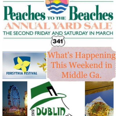 What's Happening This Weekend in Middle Georgia 3/12