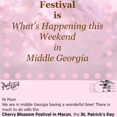 What's Happening This Weekend in Middle Georgia 3/19/15