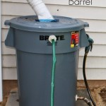 DIY Rain Barrel from Our Secondhand House