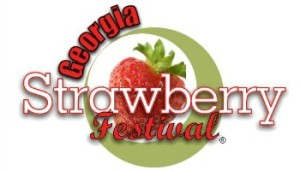 Ga. Strawberry Festival button