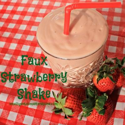 Faux Strawberry Shake