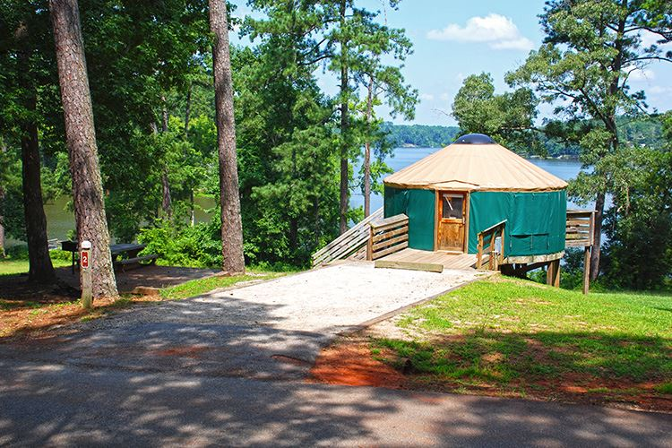 Yurt at High Falls State Park