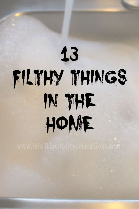 13 Filthy Things In The Home