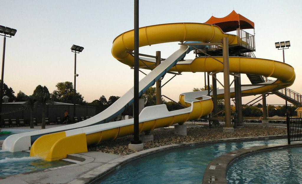 Slippery Slope at Sandy Beach Water Park