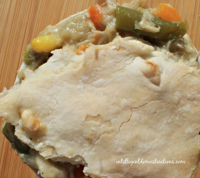 Homemade Chicken Pot Pie recipe